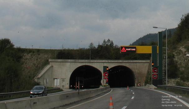 Kurztunnel der A9 (Pyhrn-Autobahn) bei St. Pankraz
