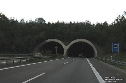 Herfatz-Tunnel der A96 nordöstlich von Wangen