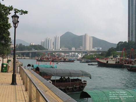 Ap Lei Chau Bridge in Hongkong