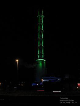 Duisburg: Stadtwerketurm