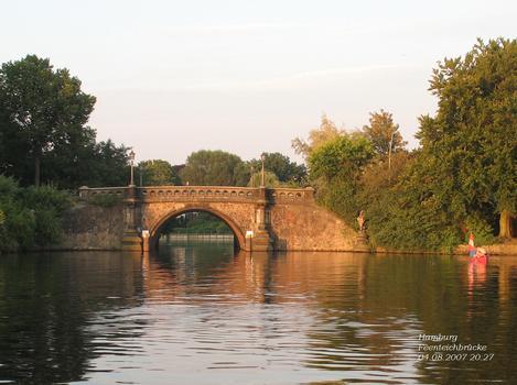 Feenteichbrücke, Hambourg