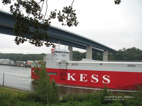 Hochbrücken Kiel - Holtenau