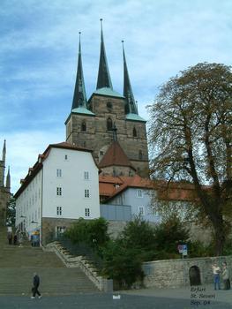 Erfurt - Eglise Saint-Sévère