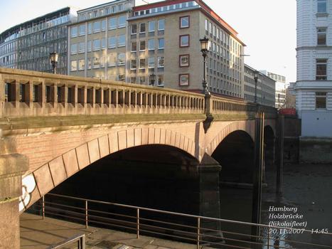 Hamburg, Holzbrücke