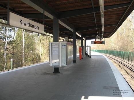 U-Bahnhof Kiwittsmoor in Hamburg-Langenhorn