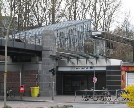 U - Bahnhof Alsterdorf in Hamburg