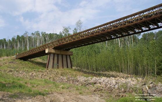 Ft. Nelson River Bridge, südlicher Liard Highway / B.C.