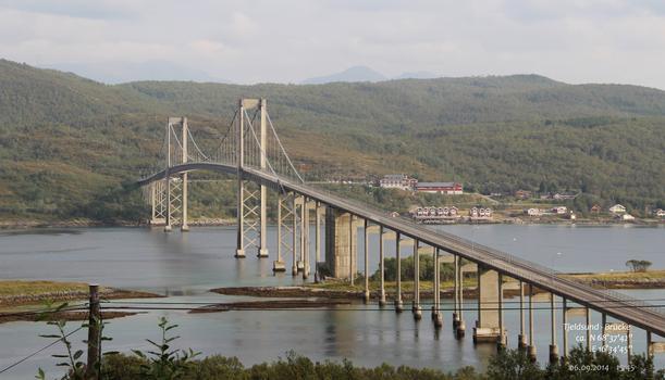 Tjeldsund-Brücke