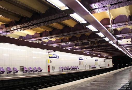 Metrobahnhof Concorde