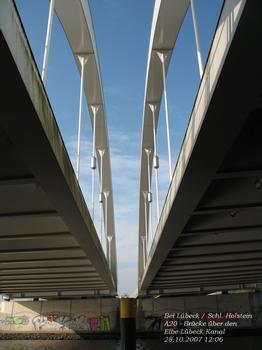 A 20 - Bridge across Elbe-Lübeck Canal