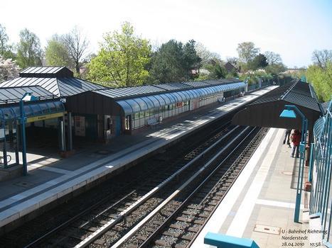 U-Bahnhof Richtweg in Norderstedt