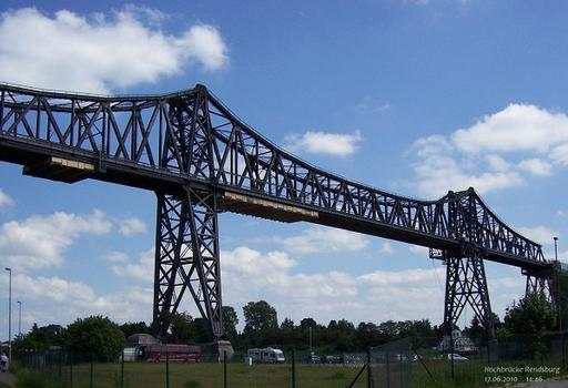 Hochbrücke Rendsburg über den Nord-Ostsee-Kanal