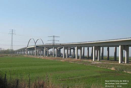 Störbrücke der BAB 23 bei Itzehoe