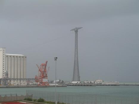 High Voltage Masts to Cadiz Island