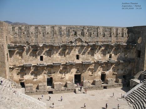 Antikes Theater in Aspendos / Türkei