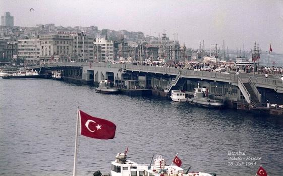Istanbul, Galata Bridge