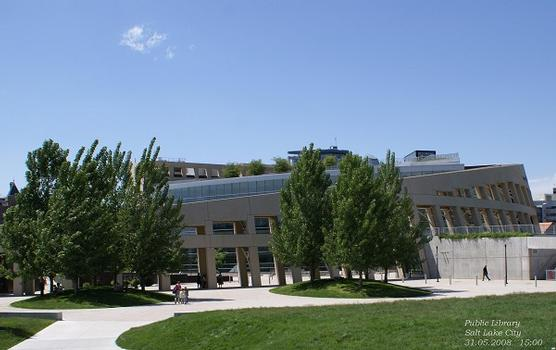 Public Library in Salt Lake City