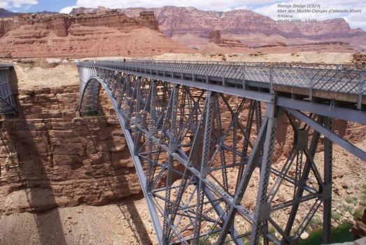 Alte Navajo Bridge in Arizona