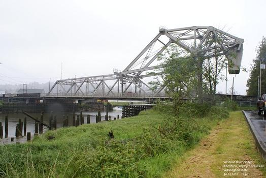 Wishkah River Bridge, Aberdeen / Olympic Peninsula, Washington State