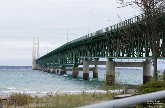 Mackinac Bridge, Straits of Mackinac, Michigan