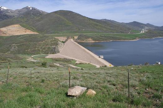 Jordanelle Dam & ReservoirHighway, 40 / Heber CityWasatch County / Utah: Jordanelle Dam & Reservoir Highway, 40 / Heber City Wasatch County / Utah