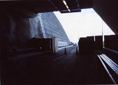 Pen-y-Clip Tunnel, A55, Wales
