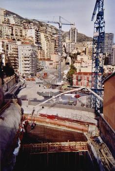 Tunnel Auréglia/Grimaldi, Principauté de Monaco