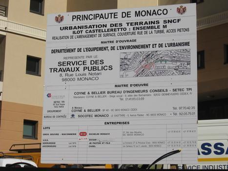 Aménagement de la voirie, Principauté de Monaco