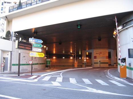 Tunnel Auréglia/GrimaldiAccès depuis la Rue Grimaldi, Principauté de Monaco : Tunnel Auréglia/Grimaldi Accès depuis la Rue Grimaldi, Principauté de Monaco