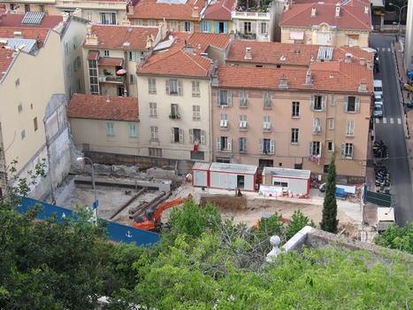 chantier de «A Qietudine», Principauté de Monaco