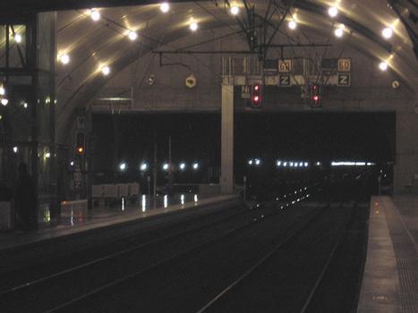 Tunnel ferroviaire de Monte Carlo Principauté de Monaco
