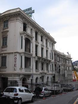 Hôtel BalmoralTravaux de déconstruction, Principauté de Monaco