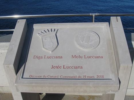 Jetée Lucciana, Principauté de Monaco