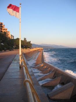 Brise Lame de la digue, Principauté de Monaco