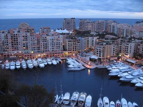 Terre-Plein de Fontvieille et le PortPrincipauté de Monaco