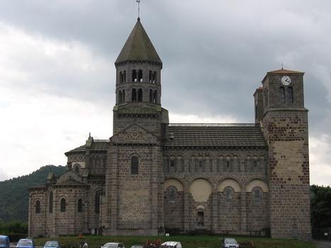 Abbatiale Saint-Nectaire, Puy-de-Dôme (63), Auvergne, France