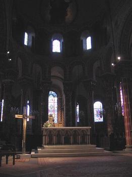 Eglise Saint-AustremoineIssoire, Puy-de-Dôme (63), Auvergne, France