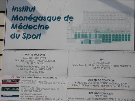 IM²S, avenue d'Ostendeinformation board