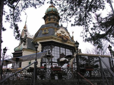 Hanavsky Pavillion (Hanavský pavilon), Letenské sady, Prague