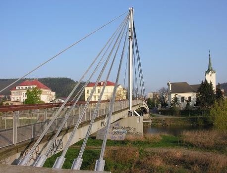 Radotina Footbridge