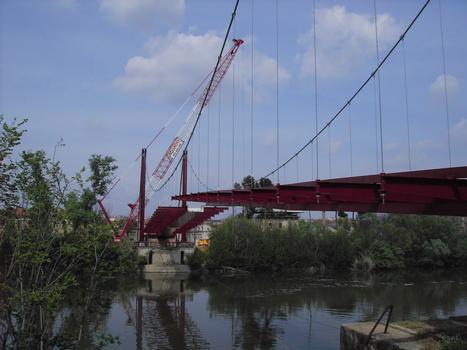 Hängebrücke in Toledo