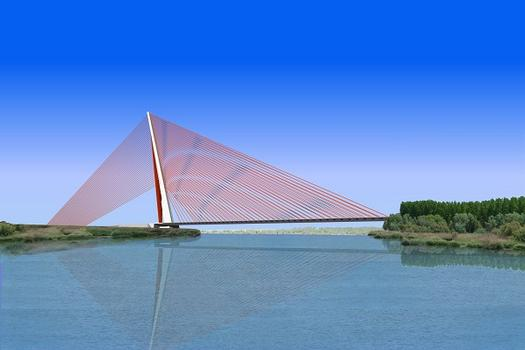 Schrägseilbrücke Talavera de la Reina