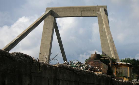 Ansa della Magliana-Brücke
