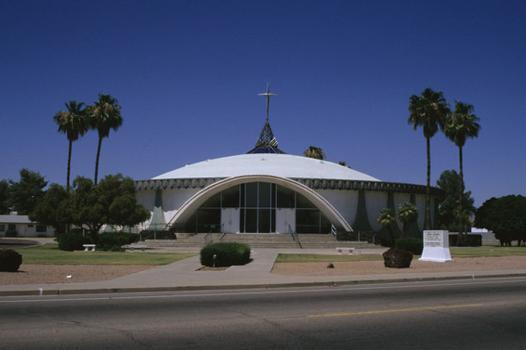 Glass and Community Garden Church