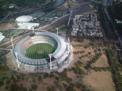 Melbourne Cricket Ground , Melbourne, Australien