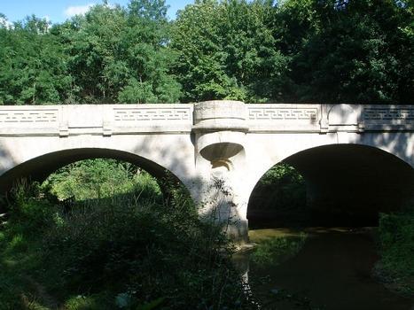 Pont sur le ru de Baulches (RN 6), Monéteau