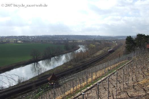 Pont sur la Saale à Weissenfels