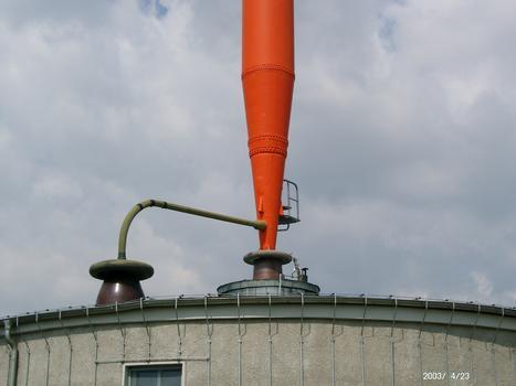 Wilsdruff/Sachsen, Sendemast Mittelwelle