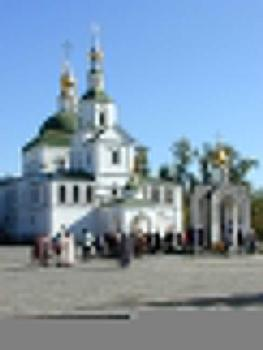 Svyato-Danilov Monastery founded in 1300, Moscow part of Monastery: Church of the Seven Holy Fathers