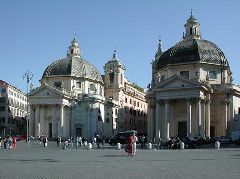 Santa Maria dei Miracoli & Santa Maria di Montesanto, Rome